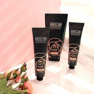 DAYCELL - MEDI LAB Black Rose Blossom Perfume Hand Cream 70g 70g