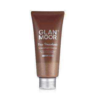Glan.moor GLAN. MOOR - Pore Pozzolanic Scrub & Foam Cleanser 100ml 100ml