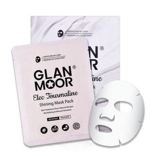 Glan.moor GLAN. MOOR - Elec Tourmaline Shining Mask Pack 5pcs 25ml x 5pcs