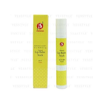 Makanai Cosmetics - Natural Lip Balm Stick (Yuzu) 1 pc