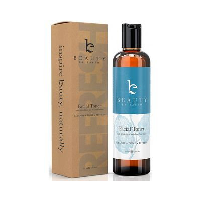 Beauty by Earth - Facial Toner with Rose Water, 251ml 251ml / 8.5 fl oz