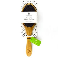 Beauty by Earth - Bamboo Detangling Hair Brush 10.5 x 3 x 1.5 inches