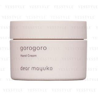 dear mayuko - Gorogoro Hand Cream 80g