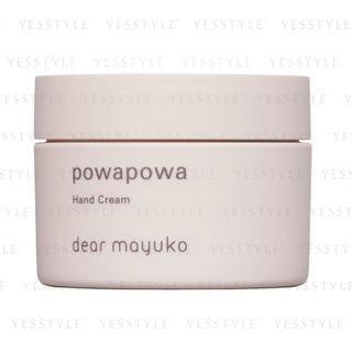 dear mayuko - Powapowa Hand Cream 80g