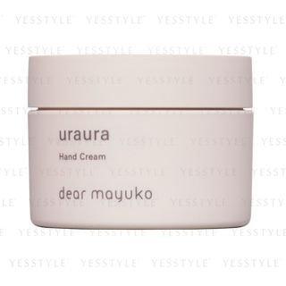 dear mayuko - Uraura Hand Cream 80g