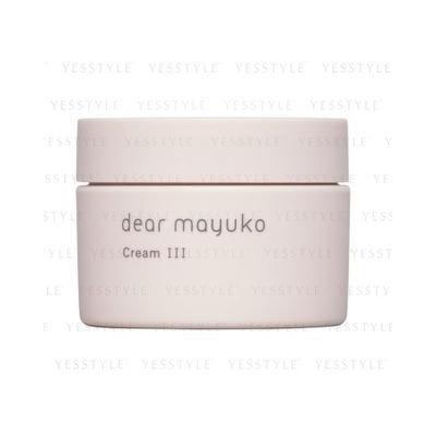 dear mayuko - Cream III 40ml