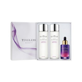 Missha - Time Revolution Special Limited Edition Set: Night Repair Borabit Ampoule 50ml + The First Treatment Essence (Intensive Moist) 150ml + 150ml 3pcs