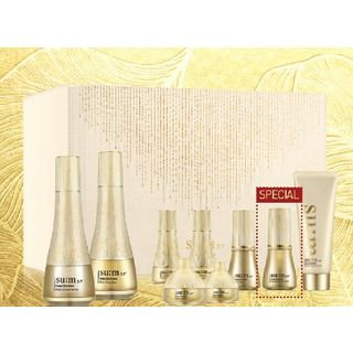 Su:m37 su: m37 - LosecSumma Elixir Special Set: Skin Softener 150ml + 25ml + Emulsion 130ml + 25ml + Serum 7ml + Cream 7ml + Eye Cream 4ml + Night Ampoule 10ml+ Foam Cleanser 80ml 9pcs