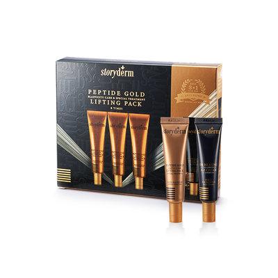 storyderm - Dr Healing Peptide Gold Lifting Pack Set: 15ml x 3pcs + A-Z Cream 15ml 4pcs