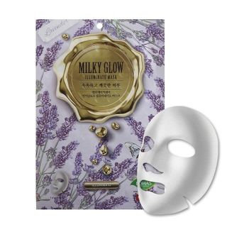 No:hj no: hj - Milky Glow Illuminate Mask 1pc 25g