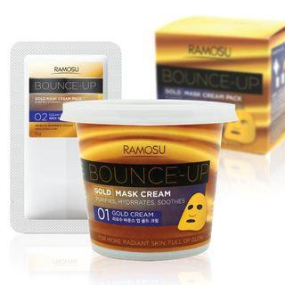 RAMOSU - Bounce-Up Gold Cream Mask Pack 50g + Mask Powder 5g 50g + 5g