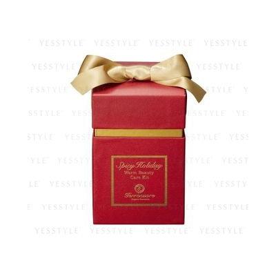 Terracuore - Spicy Holiday Warm Beauty Care Kit: Milky Bath 125ml + Body Wash Milk 125ml + Body Scrub 75ml + Body Milk 75ml 4 pcs