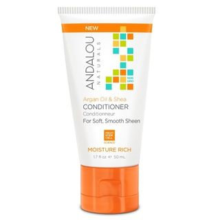 Argan Oil & Shea Conditioner Travel Size Andalou Naturals 1.7 fl oz Liquid