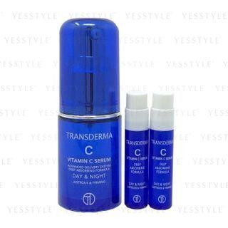 TRANSDERMA - Vitamin C Serum Special Set: Serum (10ml + 1.2ml + 1.2ml) 3 pcs