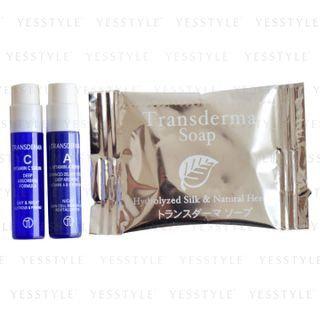 TRANSDERMA - Trial Set: Soap 5g + Vitamin C Serum 1.2ml + Vitamin A Serum 1.2ml 3 pcs