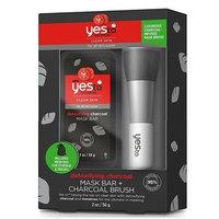 Yes To - Yes To Tomatoes: Detoxifying Charcoal Mask Bar + Charcoal Brush 56g 2oz/ 56g