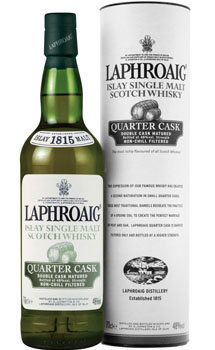 Laphroaig Scotch Single Malt Quarter Cask
