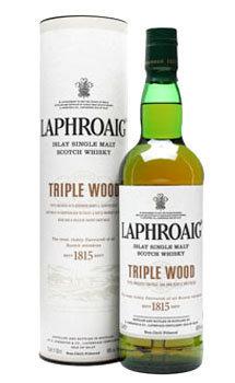 Laphroaig Scotch Single Malt Triple Wood
