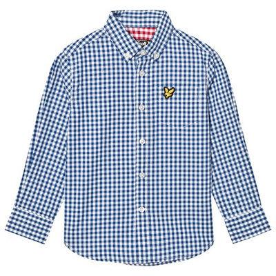 True Blue Gingham Shirt
