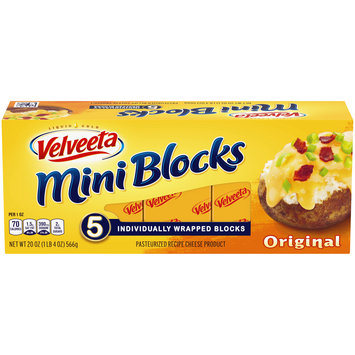 Velveeta Mini Cheese Blocks