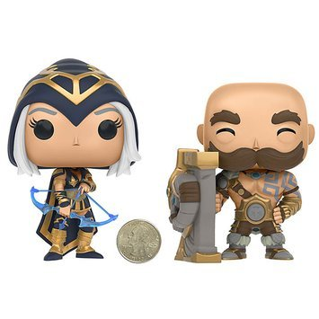 POP! Games: League of Legends Figures - Ashe