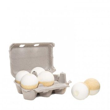 Level Naturals Six-Pack of Ultra Luxe Spa Bath Bombs (Lemon Coconut)
