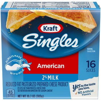 Kraft Singles 2% Milk Reduced Fat American Cheese Slices