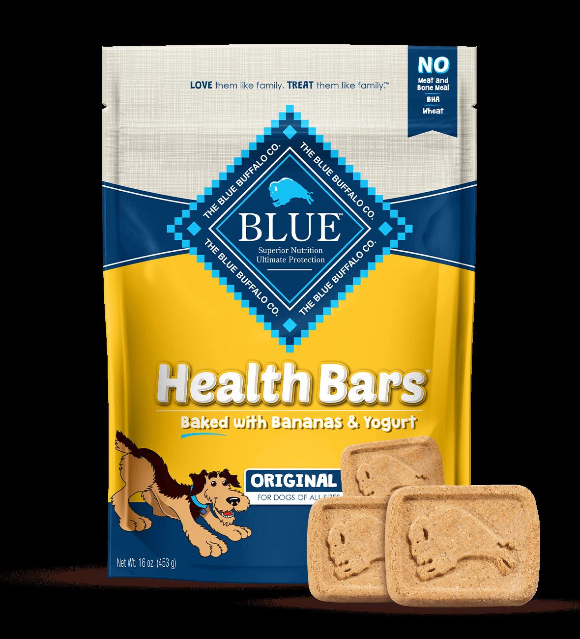 Blue Buffalo Blue Health Bars™ Dog Treats Baked With Banana And Yogurt