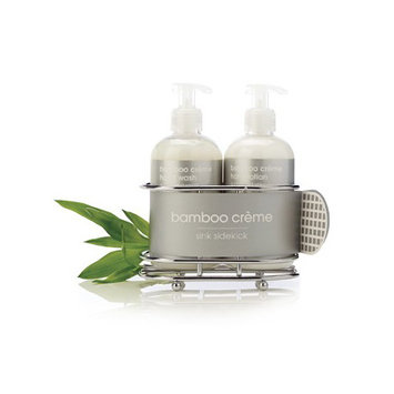 LATHER bamboo creme sink sidekick (set)