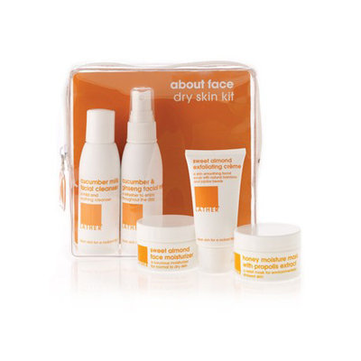 LATHER About Face Dry Skin Kit, 1 kit