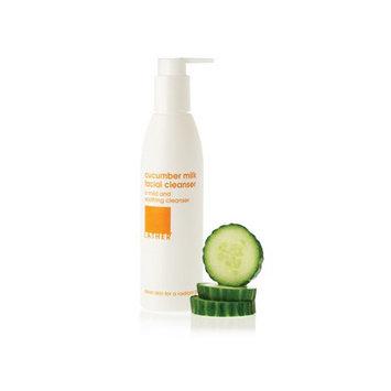LATHER cucumber milk facial cleanser (6 oz)
