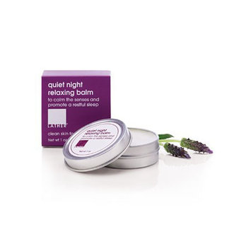 LATHER quiet night relaxing balm (1 oz)
