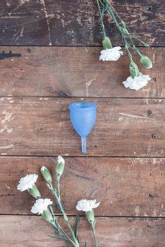 Lunette Menstrual Cup- Blue