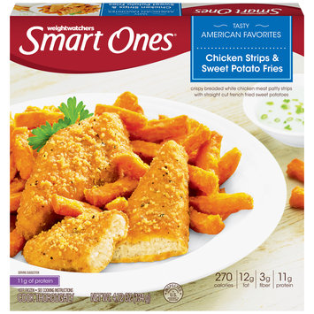Smart Ones Tasty American Favorites Chicken Strips & Sweet Potato Fries