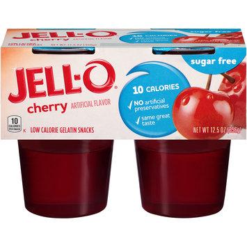 Jell-O Ready-to-Eat Cherry Sugar-Free Gelatin