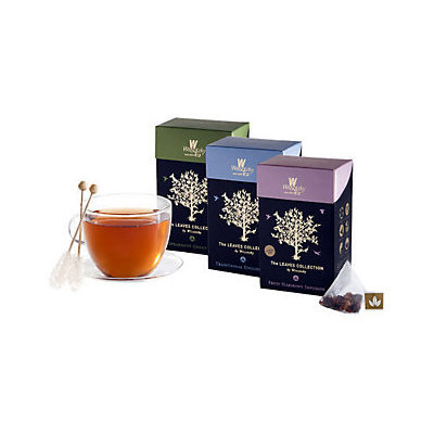 Wissotzky Tea Leaves Collection in Silken Pyramids
