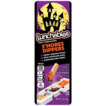 Lunchables S'mores Dippers Snack Combination Convenience Meal