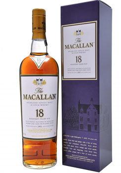 The Macallan Sherry Oak 18 Single Malt Whisky
