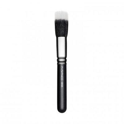 MAC Short Handle Small Duo Fibre Face Brush Makeup, 188SH