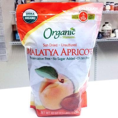 Malatya Apricots, Sun Dried - Unsulfured, 40 oz (1.13 kg), Organic by Mariani