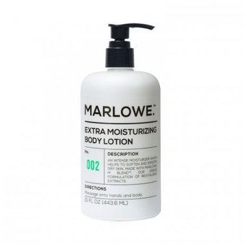 Marlowe. No. 002 Extra Moisturizing Body Lotion 15 oz