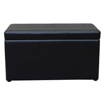 Better Homes 30 Inch Hinged Storage Ottoman