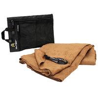Outgo Microfiber Towel, 30 x 50 in, Mocha