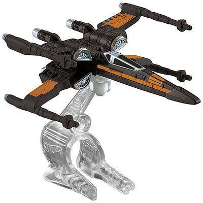 Hot Wheels Star Wars Starships Hero Starfighter (Open Wing Orange)