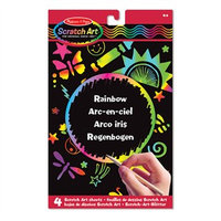 Melissa & Doug Scratch Art Sheets Combo Pack