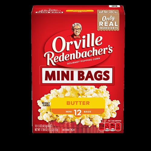 Orville Redenbacher'sMini Size Butter Popcorn
