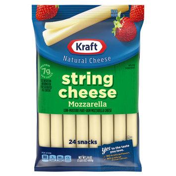 Kraft Mozzarella String Cheese Sticks