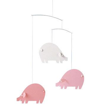 Flensted Mobiles Piggy Pink Mobile