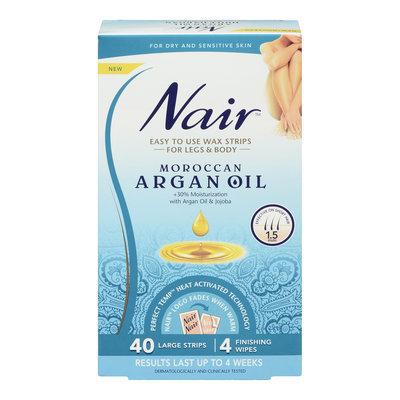 Nair Moroccan Argan Oil Wax Strips