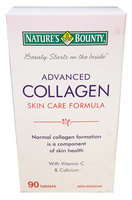 Nature's Bounty Advanced Collagen Skin Care Formula Tablets